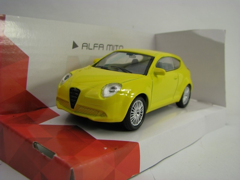 Alfa Romeo MITO Yellow 1:43 Mondo Motors