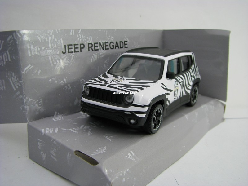 Jeep Renegade Juventus 1:43 Mondo Motors
