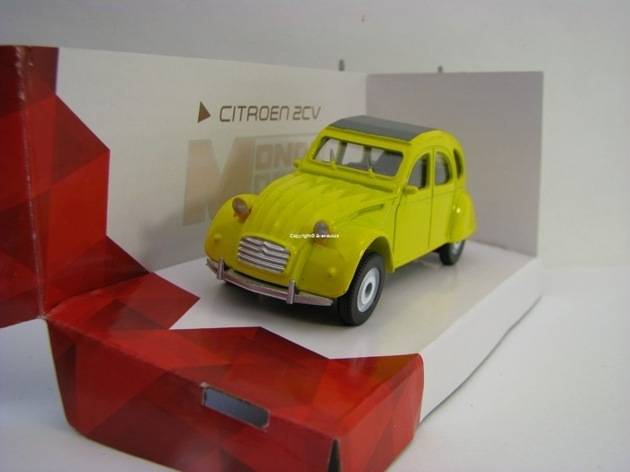 Citroen 2CV Yellow 1:43 od Mondo Motors