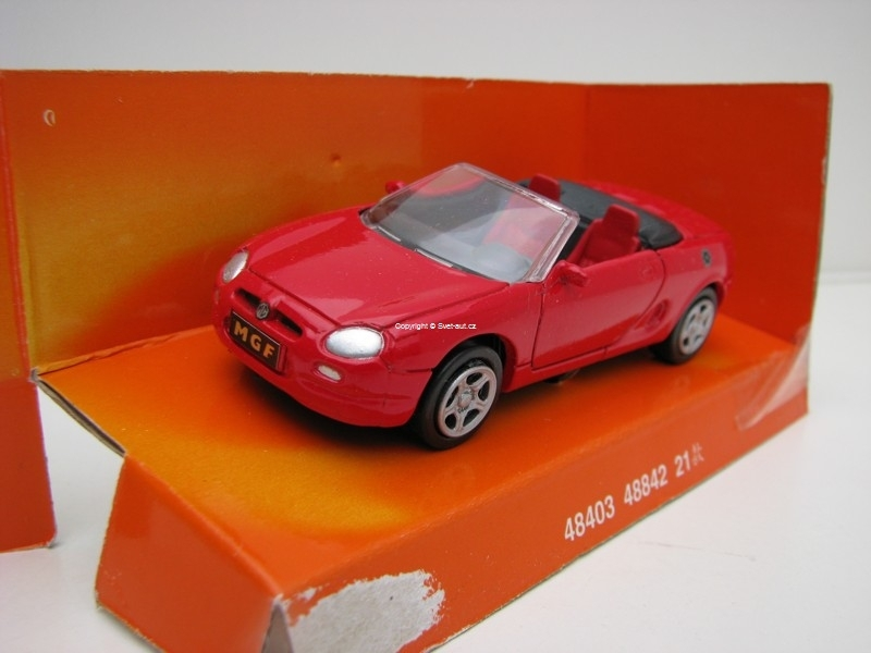 MGF 1996 Red 1:43 New Ray
