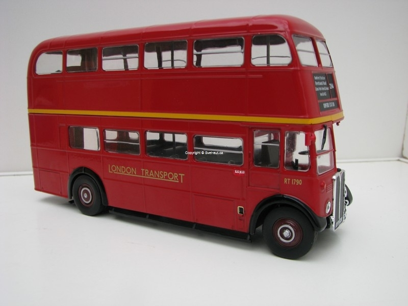 AEC Regent III RT 1939 London Transport Red Ixo models