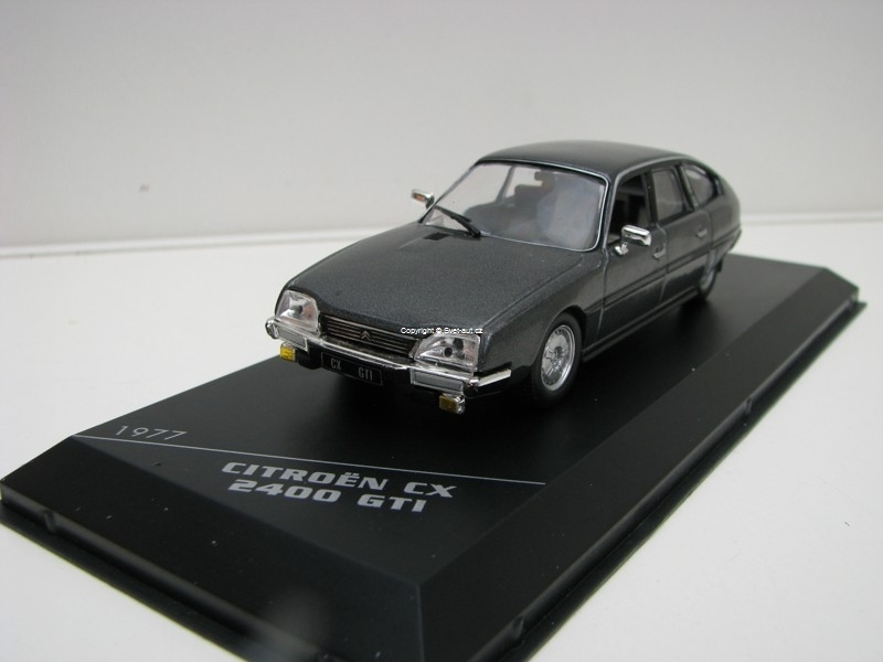 Citroen CX 2400 GTI 1977 Grey 1:43 White Box 250