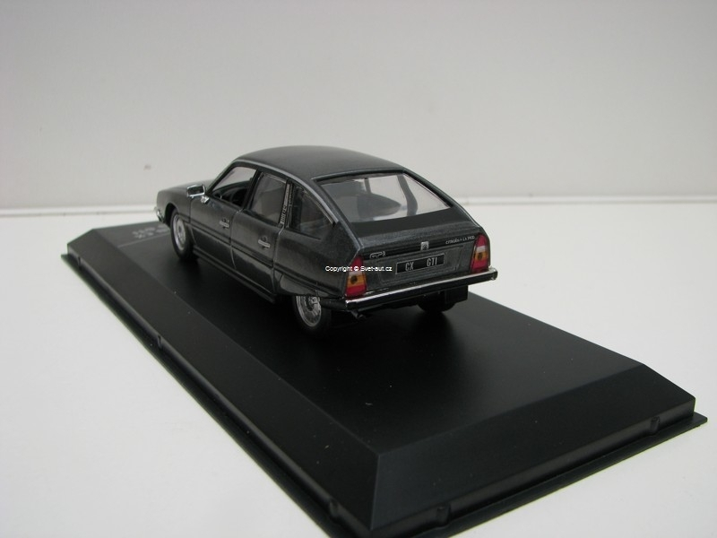 Citroen CX 2400 GTI 1977 Grey 1:43 White Box