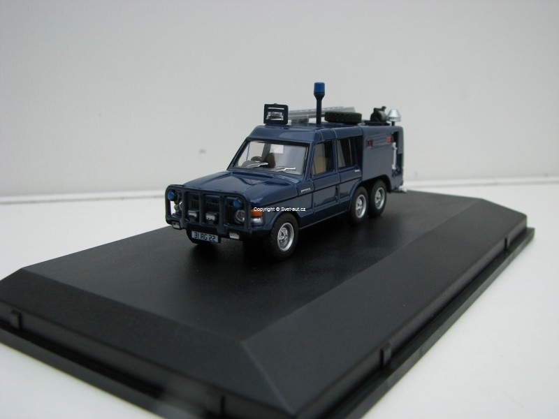 Range Rover TACR2 6 Wheels Quens Flight Fire 1:76 Oxford