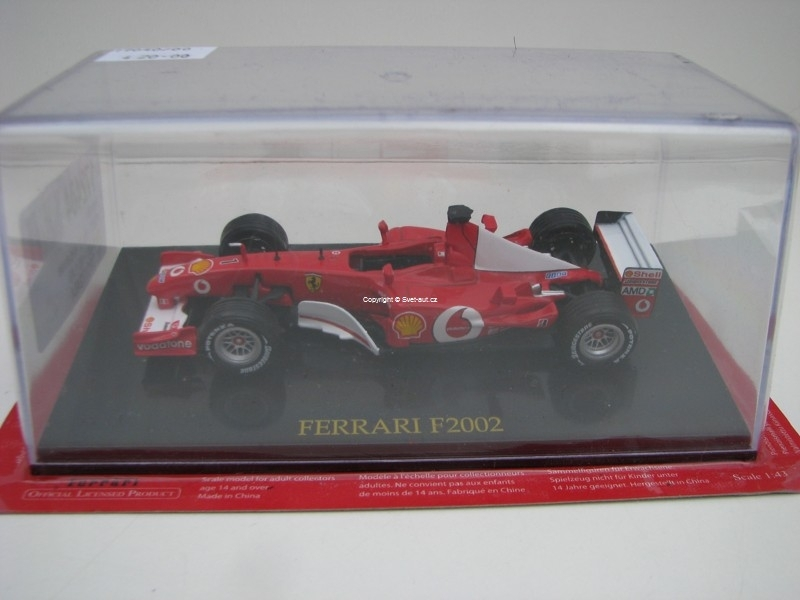 Ferrari F2002 No.1 Vodafone Schumacher 1:43 Atlas