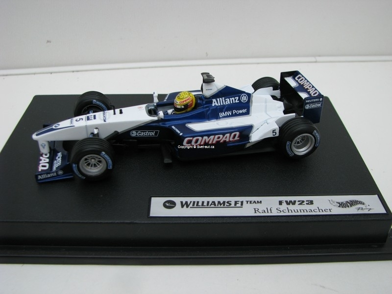 Williams F1 Tem FW23 No.5 Ralf Schumacher 1:43 Hot Wheels