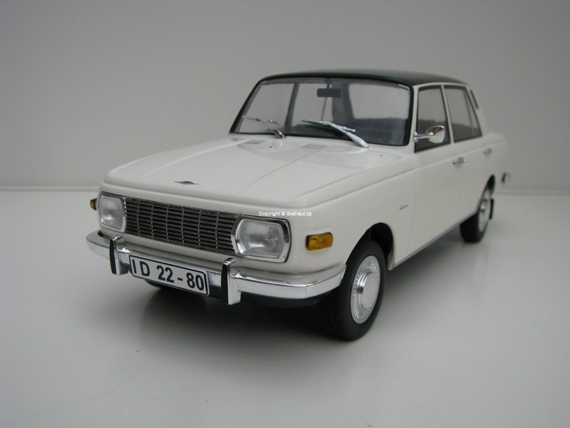 Wartburg 353 limousine White/Black 1:18 MCG Modelcar Group
