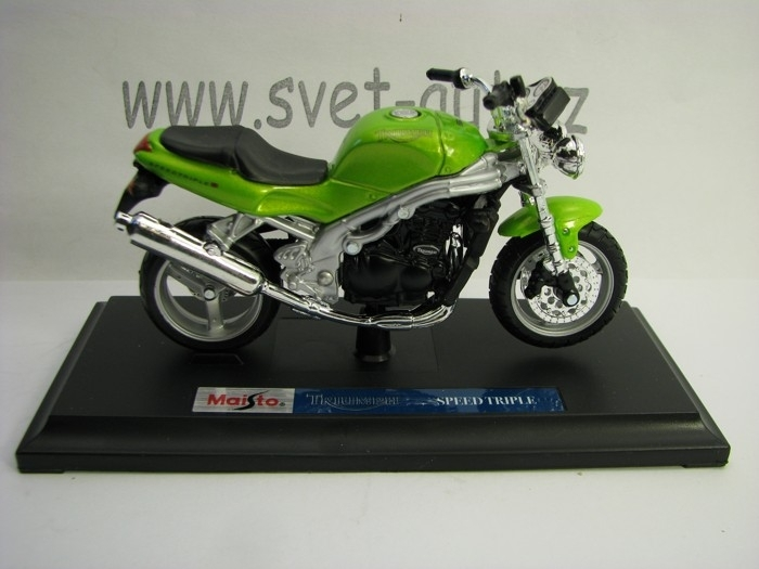 Triumph Speed Triple Green 1:18 Maisto