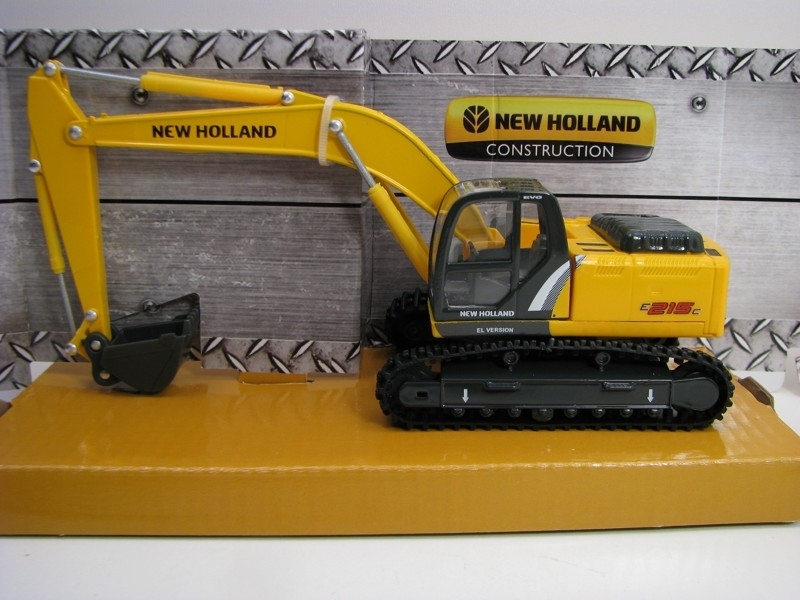 Pásový Bagr New Holland E215C 1:50 Bburago