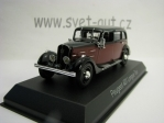 Peugeot 401 Longue Taxi Dark Red Black 1:43 Norev