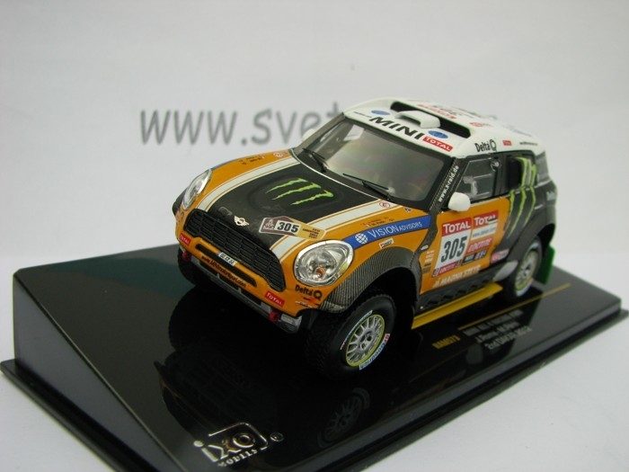 Mini All 4 Racing No.305 2nd Dakar 2012 1:43 Ixo