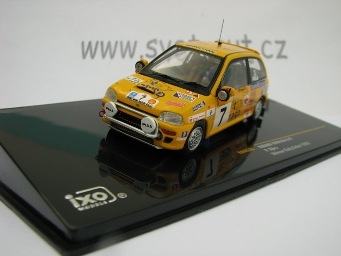 Subaru Vivio RX-R No.7 Winner Rally Safari 1993 1:43 Ixo
