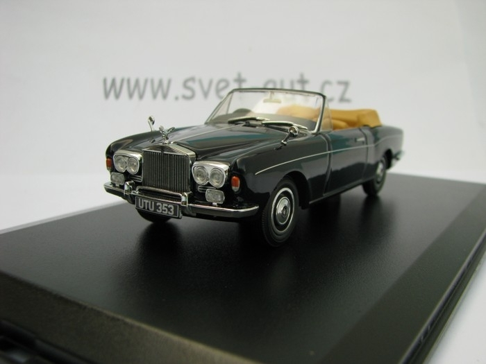 Rolls Royce Corniche Convertible Indigo Blue 1:43 Oxford