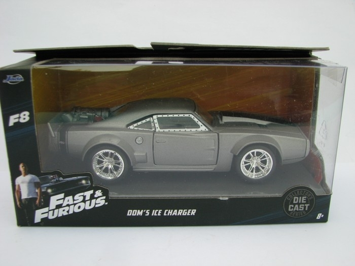 Dom's Ice Dodge Charger R/T Fast and Furious 8 Jada Toys