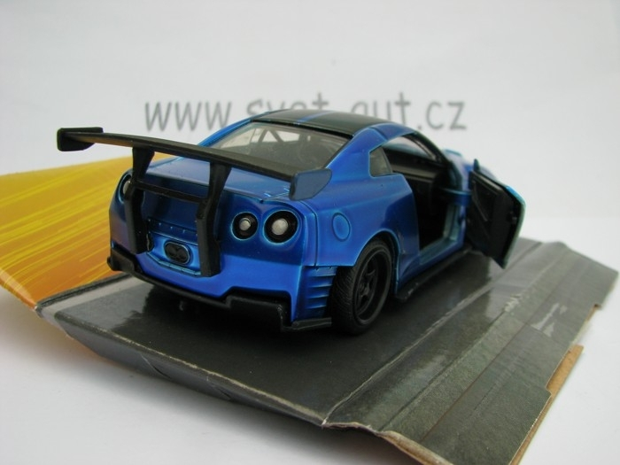 Brian\'s Nissan GT-R (R35) Fast and Furious Jada Toys