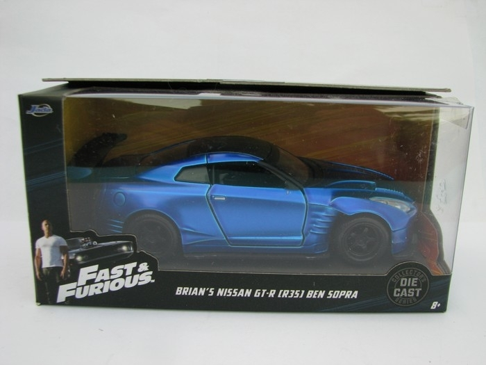Brian's Nissan GT-R (R35) Fast and Furious Jada Toys