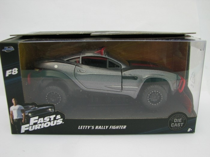 Letty's Local Motors Rally Fighter Dodge Charger Fast and Furious 1:32 Jada Toys