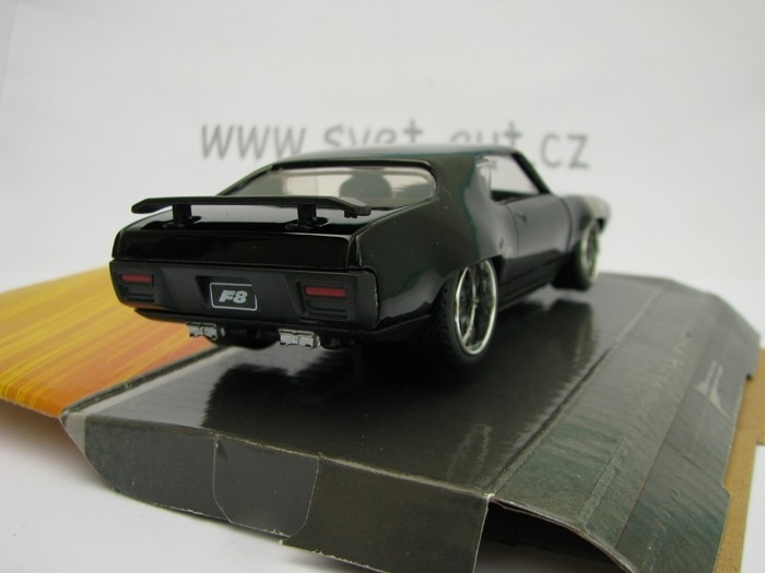 Dom's Plymouth GTX Fast and Furious 8 Jada Toys