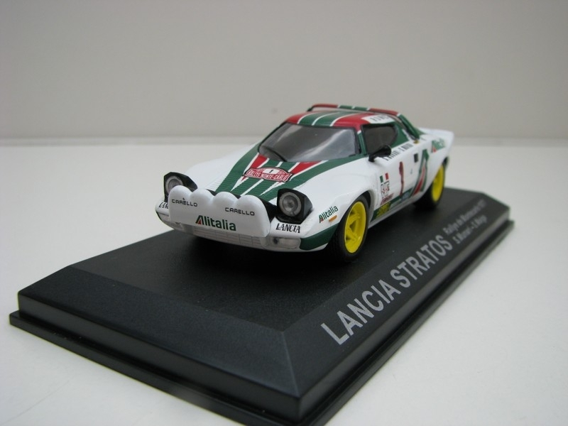 Lancia Stratos Rally MC 1977 No.1 Munari 1:43 DeAgostini