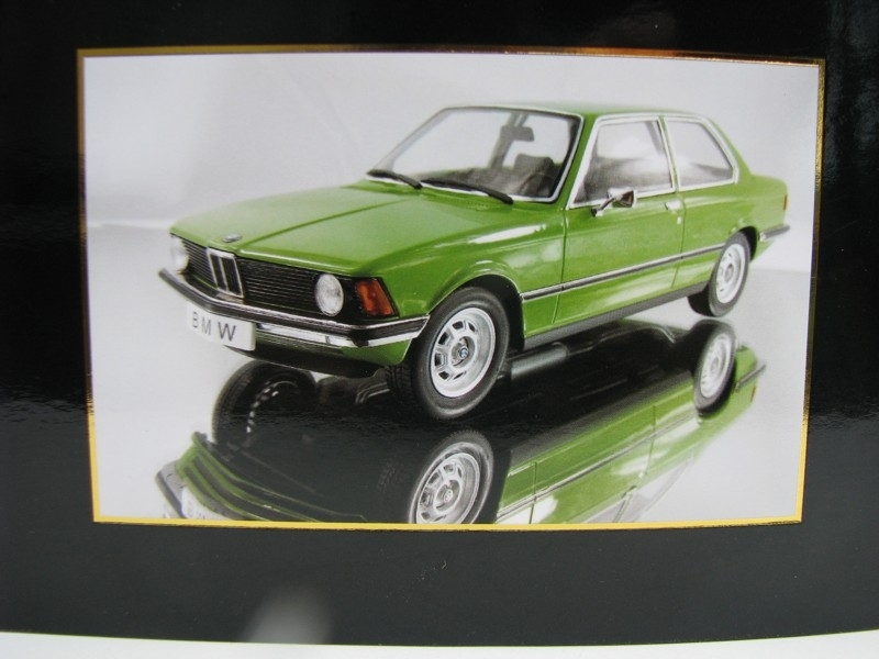 BMW 318i E21 1975 Green 1:18 KK scale
