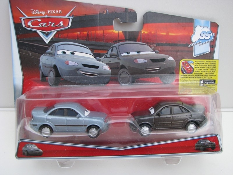 Duo Pack Heather Drifeng a Michelle Motoretta autíčka Cars Disney Pixar Cars 2 DHL18
