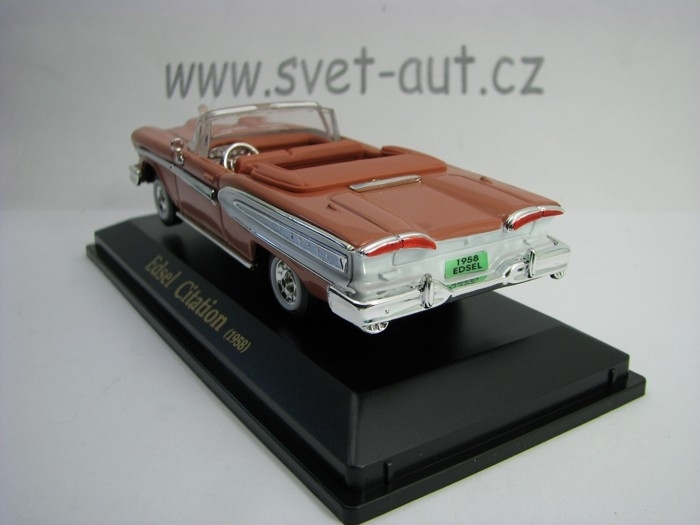 Edsel Citation Cabrio 1958 Pink 1:43 Collection 711