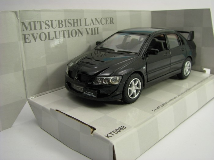 Mitsubishi Lancer Evolution VIII Black Kinsmart Bazar