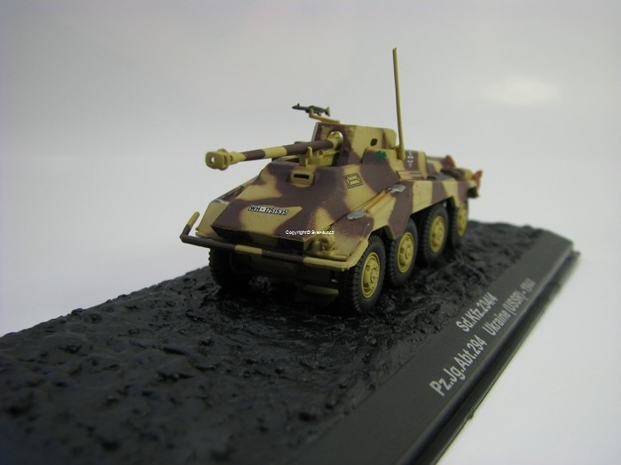Sd.Kfz.234/4 Ukraine USSR 1944 1:72 Atlas Edition