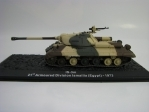 Tank IS-3m Ismailia Egypt 1973 1:72 Atlas edition