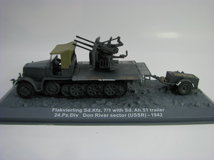 Sd.Kfz.7/1 with Sd.Ah.51 trailer USSR 1942 Atlas edition