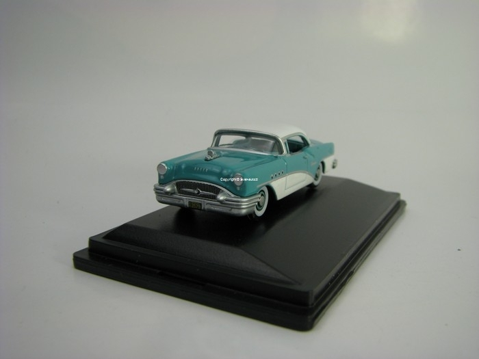 Buick Century 1955 Turqoise/Polo White 1:87 Oxford