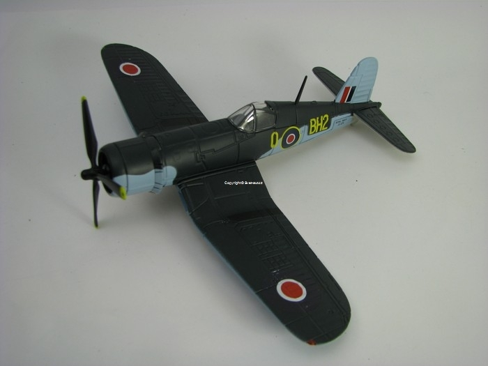 Vought Corsair III Northern Ireland 1945 1:72 Oxford
