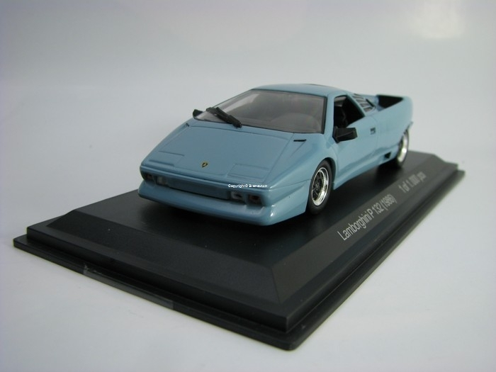 Lamborghini P 132 1986 Bluegrey 1:43 White Box