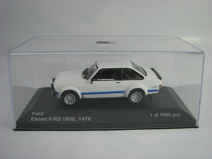 Ford Escort II RS 1800 1976 White 1:43 White Box
