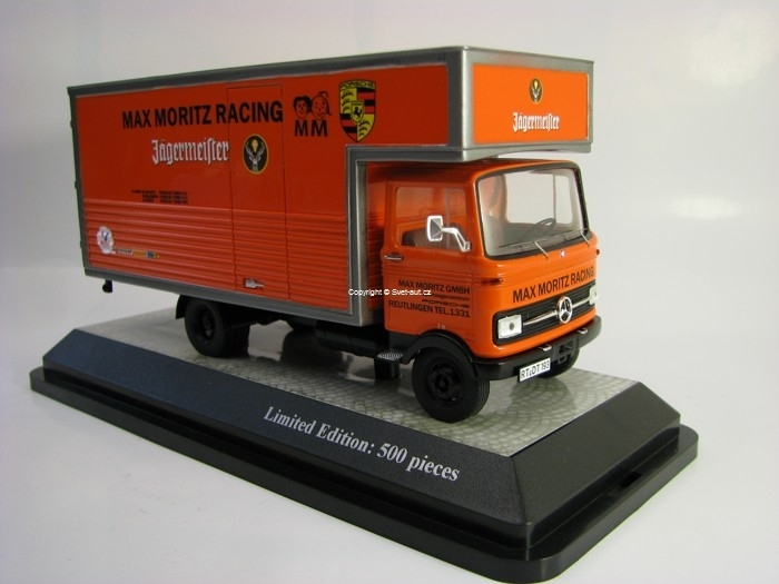 Mercedes-Benz LP 608 Max Moritz Racing Team Jagermeister 1:43 Pr