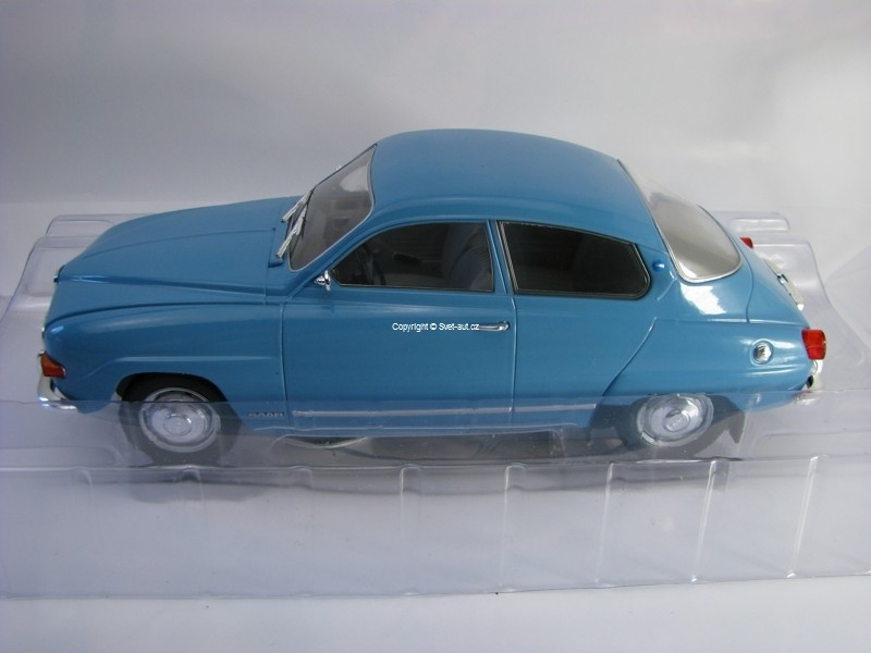 Saab 96 V4 Blue 1:18 Modelcar Group