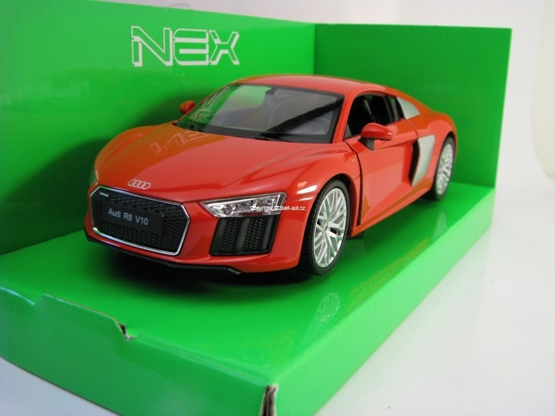 Audi R8 V10 2016 Orange Brown 1:24 Welly