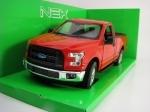 Ford F-150 Regular Cab 2015 Red 1:24 Welly