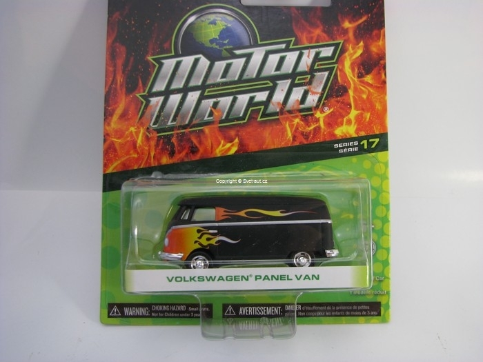 Volkswagen Panel Van Motor World 1:64 Greenlight