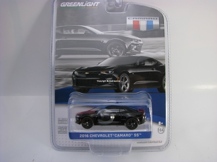 Chevrolet Camaro SS 2016 Mosaic Black GM Collection 1:64 Greenlight