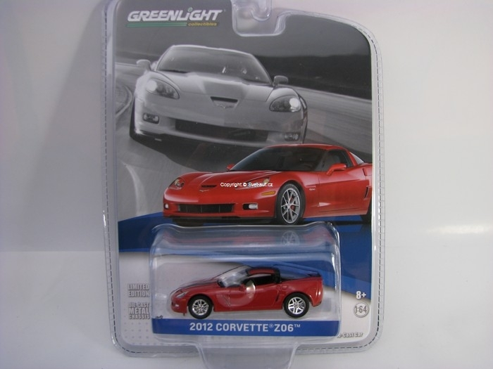 Chevrolet Corvette Z06 2012 Crystal Red GM Collection 1:64 Greenlight