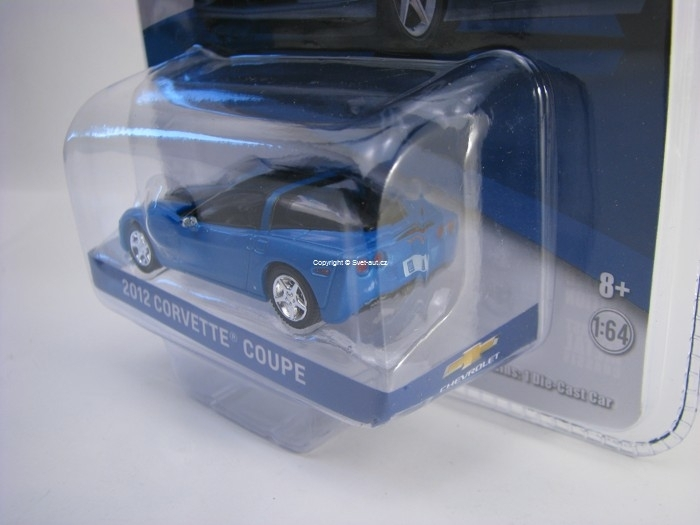 Chevrolet Corvette Coupe 2012 Supersonic Blue GM Collection 1:64