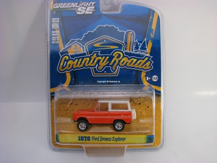Ford Bronco Explorer Package 1976 1:64 Greenlight