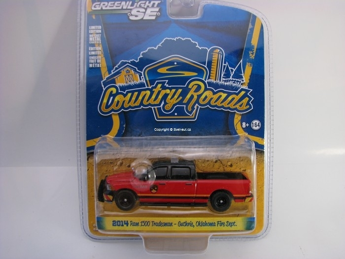 Dodge Ram 1500 Tradesman 2014 Country Roads 1:64 Greenlight