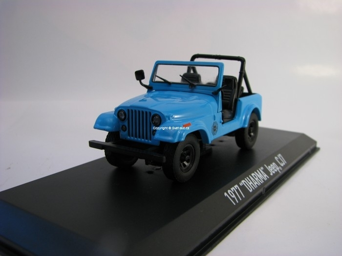 Jeep CJ7 DHARMA 1977 Lost 1:43 Greenlight