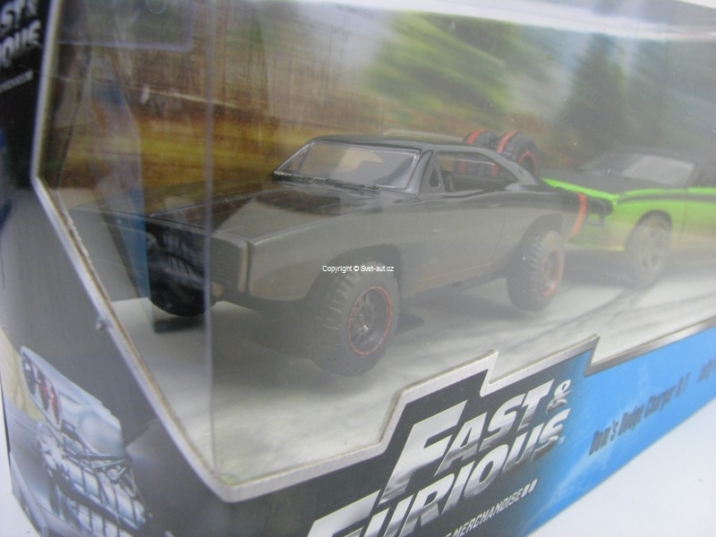 Dodge Charger R/T a Dodge Challenger Fast and Furious 1:32 Jada