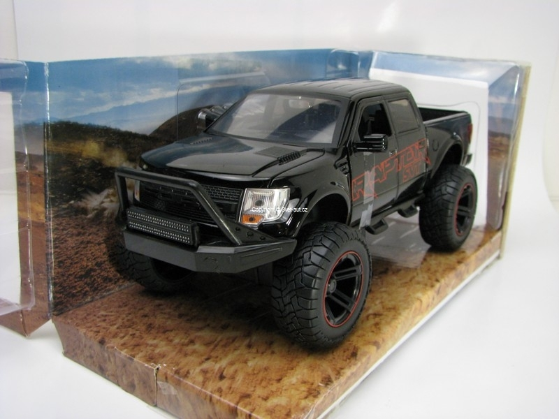 Ford F-150 SVT Raptor Off Road 2011 Black 1:24 Jada Toys