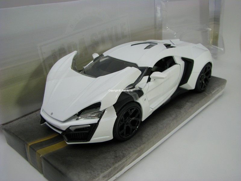 Lykan Hypersport White 1:24 Jada Toys