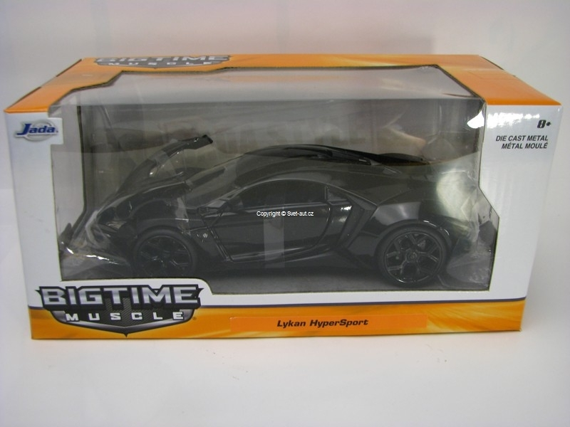Lykan Hypersport Black 1:24 Jada Toys
