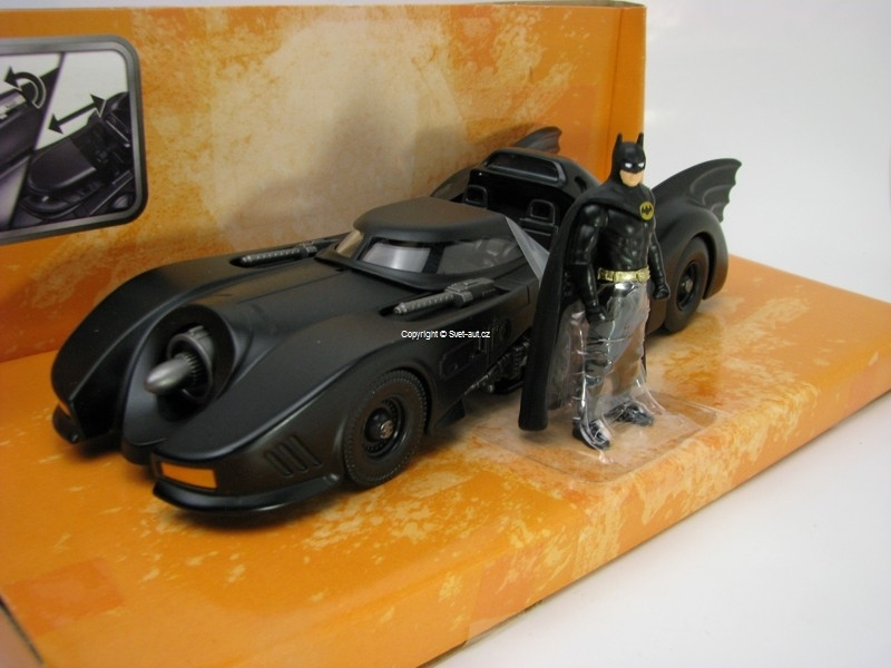 Batmobile s Figurkou Batman 1989 1:24 Jada Toys